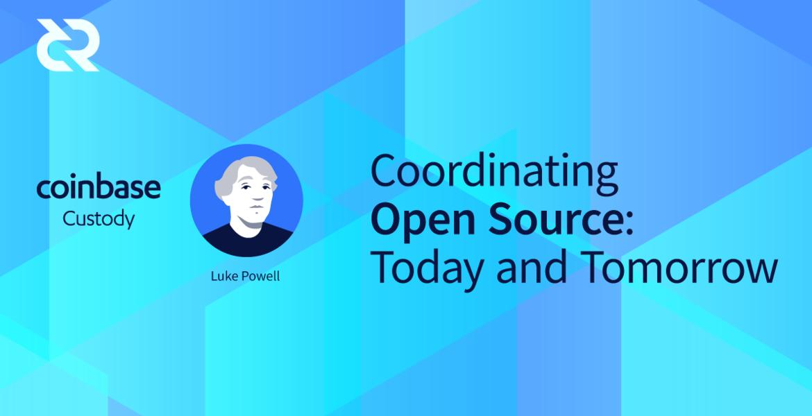 Coordinating Open Source: Today and Tomorrow