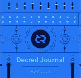Decred Journal - May 2018