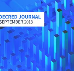 Decred Journal - September 2018