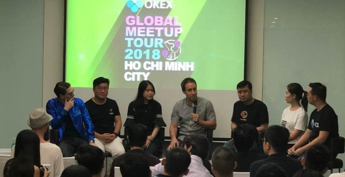 Okex global meetup tour Ho Chi Minh City