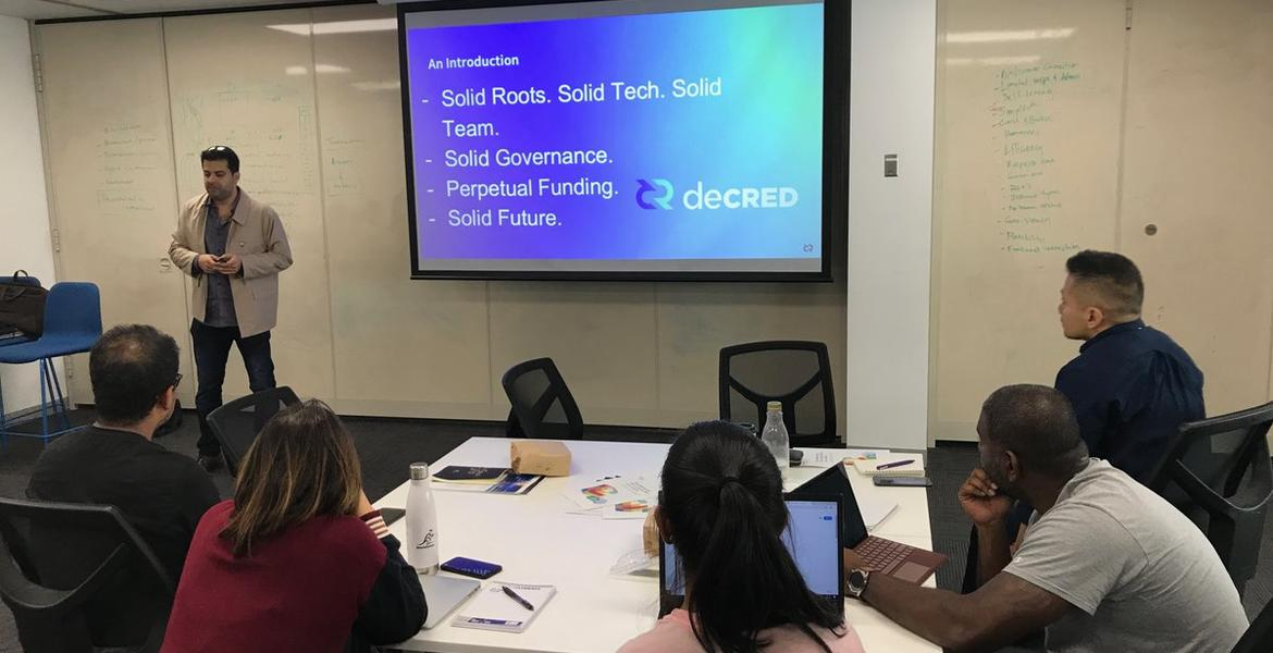 Decred Australia at Swinburne University of Technology's Fintech masters students