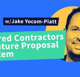 Decred Assembly - Ep12 - Decred contractors and future proposal system with Jake Yocom-Piatt!