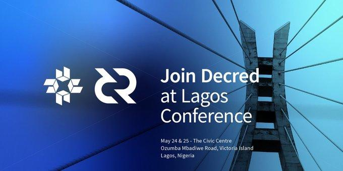 Join Decred at Lagos Conference